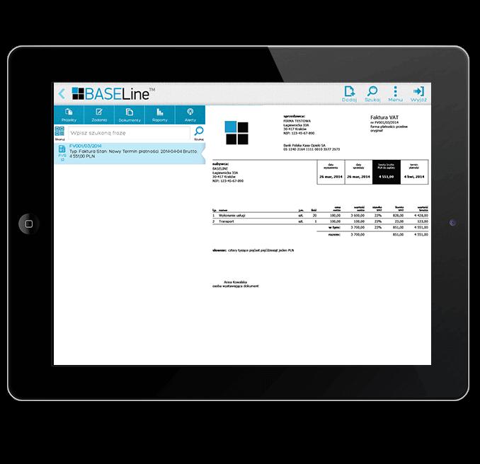obieg dokumentów iPad
